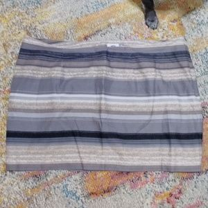 Striped Old Navy Mini Skirt 22